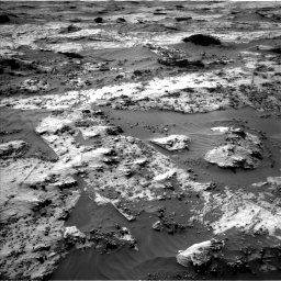 Nasa's Mars rover Curiosity acquired this image using its Left Navigation Camera on Sol 3210, at drive 2026, site number 90