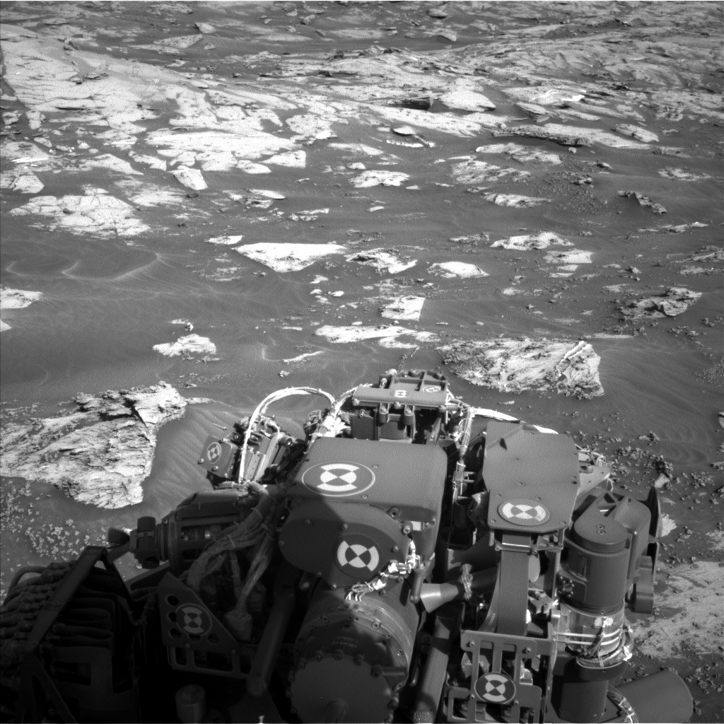Nasa's Mars rover Curiosity acquired this image using its Left Navigation Camera on Sol 3210, at drive 2078, site number 90