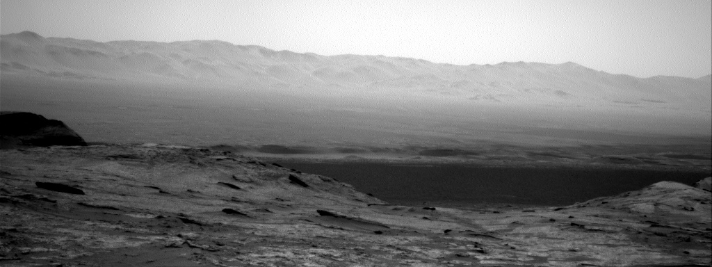 Nasa's Mars rover Curiosity acquired this image using its Right Navigation Camera on Sol 3210, at drive 1870, site number 90