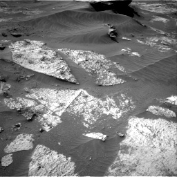 Nasa's Mars rover Curiosity acquired this image using its Right Navigation Camera on Sol 3210, at drive 1876, site number 90