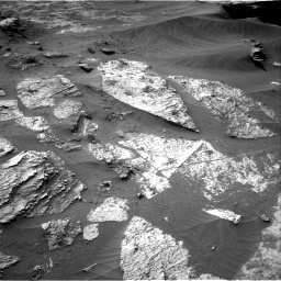 Nasa's Mars rover Curiosity acquired this image using its Right Navigation Camera on Sol 3210, at drive 1882, site number 90
