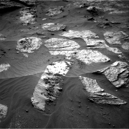 Nasa's Mars rover Curiosity acquired this image using its Right Navigation Camera on Sol 3210, at drive 1900, site number 90