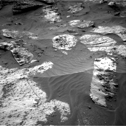 Nasa's Mars rover Curiosity acquired this image using its Right Navigation Camera on Sol 3210, at drive 1906, site number 90