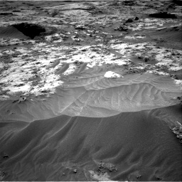 Nasa's Mars rover Curiosity acquired this image using its Right Navigation Camera on Sol 3210, at drive 1948, site number 90