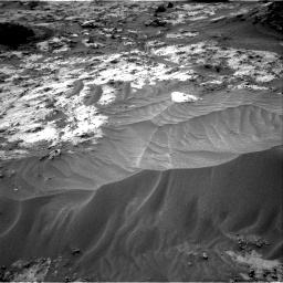 Nasa's Mars rover Curiosity acquired this image using its Right Navigation Camera on Sol 3210, at drive 1966, site number 90