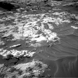 Nasa's Mars rover Curiosity acquired this image using its Right Navigation Camera on Sol 3210, at drive 1984, site number 90