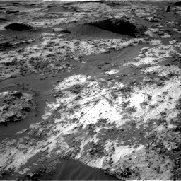 Nasa's Mars rover Curiosity acquired this image using its Right Navigation Camera on Sol 3210, at drive 2008, site number 90