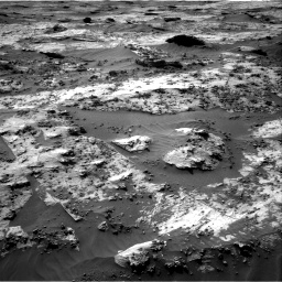 Nasa's Mars rover Curiosity acquired this image using its Right Navigation Camera on Sol 3210, at drive 2026, site number 90
