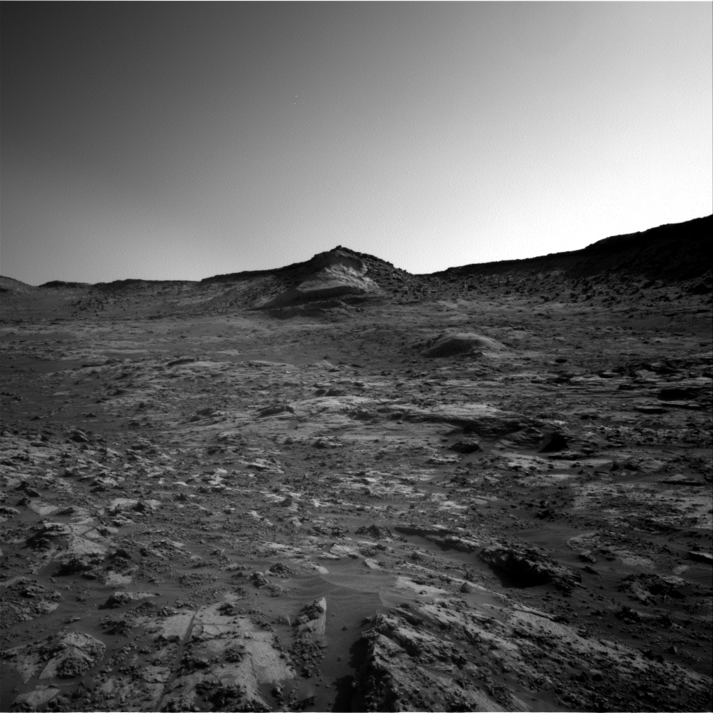 Nasa's Mars rover Curiosity acquired this image using its Right Navigation Camera on Sol 3210, at drive 2078, site number 90
