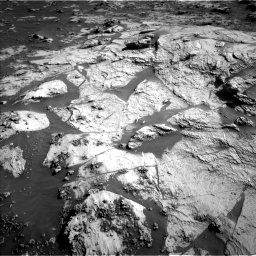 Nasa's Mars rover Curiosity acquired this image using its Left Navigation Camera on Sol 3211, at drive 2234, site number 90