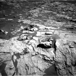Nasa's Mars rover Curiosity acquired this image using its Left Navigation Camera on Sol 3211, at drive 2258, site number 90