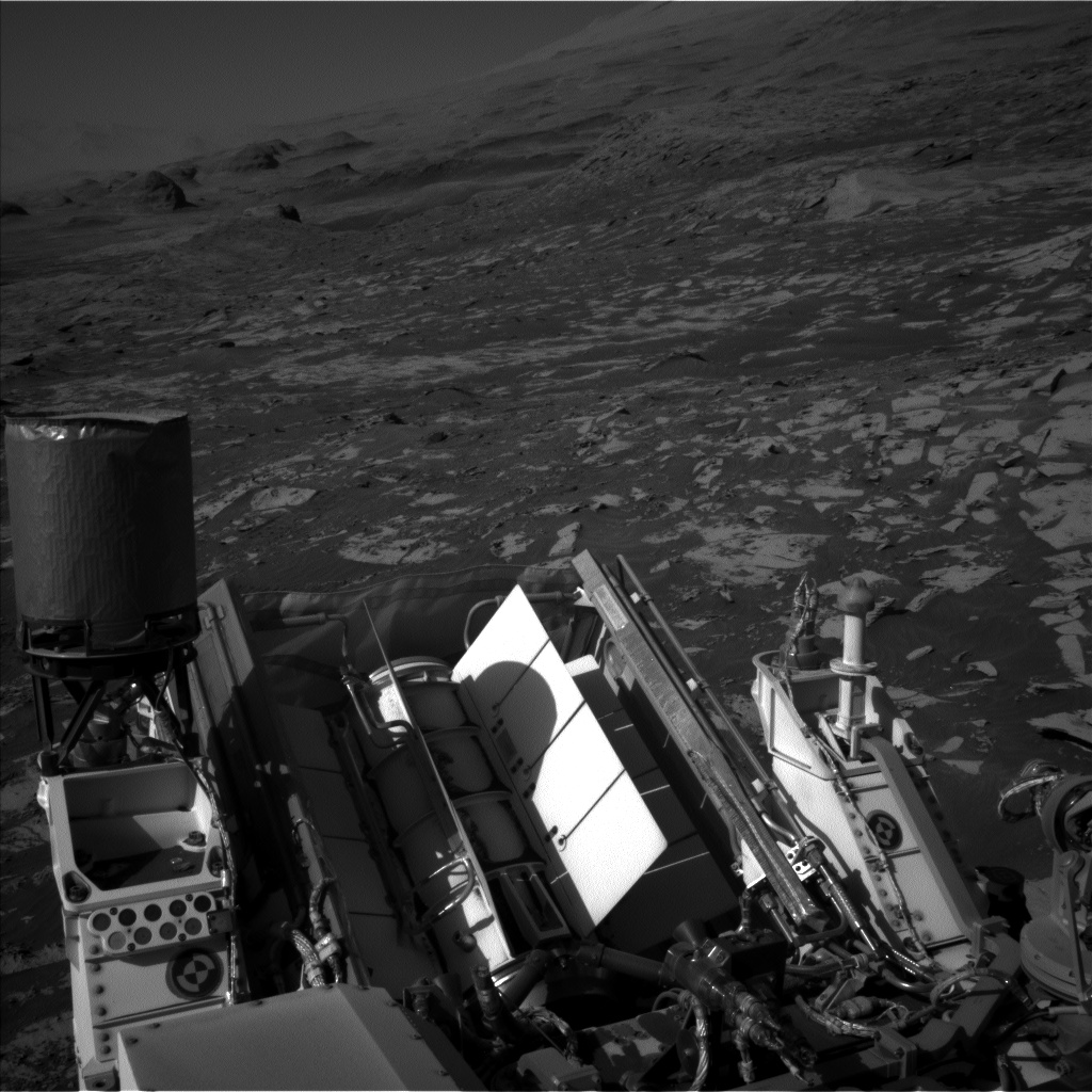Nasa's Mars rover Curiosity acquired this image using its Left Navigation Camera on Sol 3211, at drive 2270, site number 90