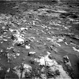 Nasa's Mars rover Curiosity acquired this image using its Right Navigation Camera on Sol 3211, at drive 2114, site number 90