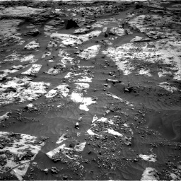 Nasa's Mars rover Curiosity acquired this image using its Right Navigation Camera on Sol 3211, at drive 2168, site number 90