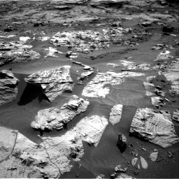 Nasa's Mars rover Curiosity acquired this image using its Right Navigation Camera on Sol 3211, at drive 2204, site number 90