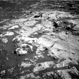 Nasa's Mars rover Curiosity acquired this image using its Right Navigation Camera on Sol 3211, at drive 2228, site number 90