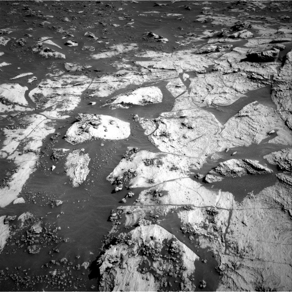 Nasa's Mars rover Curiosity acquired this image using its Right Navigation Camera on Sol 3211, at drive 2240, site number 90