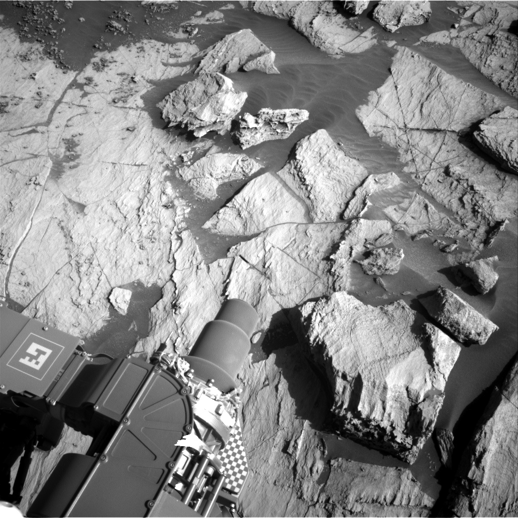 Nasa's Mars rover Curiosity acquired this image using its Right Navigation Camera on Sol 3211, at drive 2270, site number 90