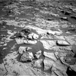 Nasa's Mars rover Curiosity acquired this image using its Left Navigation Camera on Sol 3212, at drive 2294, site number 90