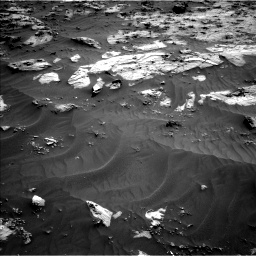 Nasa's Mars rover Curiosity acquired this image using its Left Navigation Camera on Sol 3212, at drive 2354, site number 90