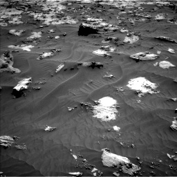 Nasa's Mars rover Curiosity acquired this image using its Left Navigation Camera on Sol 3212, at drive 2372, site number 90