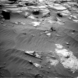 Nasa's Mars rover Curiosity acquired this image using its Left Navigation Camera on Sol 3212, at drive 2540, site number 90