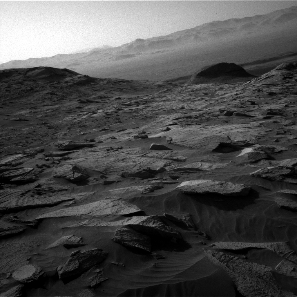 Nasa's Mars rover Curiosity acquired this image using its Left Navigation Camera on Sol 3212, at drive 2630, site number 90