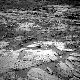 Nasa's Mars rover Curiosity acquired this image using its Right Navigation Camera on Sol 3212, at drive 2276, site number 90