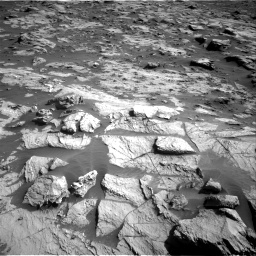 Nasa's Mars rover Curiosity acquired this image using its Right Navigation Camera on Sol 3212, at drive 2294, site number 90