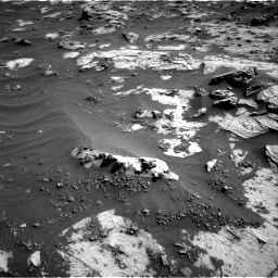 Nasa's Mars rover Curiosity acquired this image using its Right Navigation Camera on Sol 3212, at drive 2312, site number 90