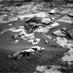 Nasa's Mars rover Curiosity acquired this image using its Right Navigation Camera on Sol 3212, at drive 2342, site number 90
