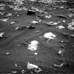 Nasa's Mars rover Curiosity acquired this image using its Right Navigation Camera on Sol 3212, at drive 2372, site number 90
