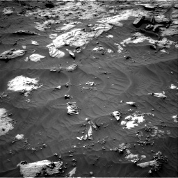 Nasa's Mars rover Curiosity acquired this image using its Right Navigation Camera on Sol 3212, at drive 2402, site number 90