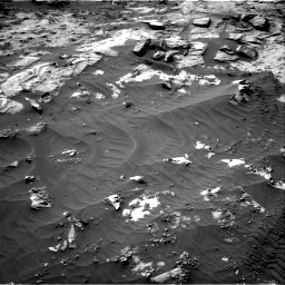 Nasa's Mars rover Curiosity acquired this image using its Right Navigation Camera on Sol 3212, at drive 2408, site number 90