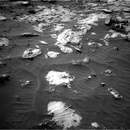 Nasa's Mars rover Curiosity acquired this image using its Right Navigation Camera on Sol 3212, at drive 2420, site number 90