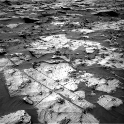 Nasa's Mars rover Curiosity acquired this image using its Right Navigation Camera on Sol 3212, at drive 2468, site number 90