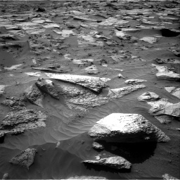 Nasa's Mars rover Curiosity acquired this image using its Right Navigation Camera on Sol 3212, at drive 2492, site number 90