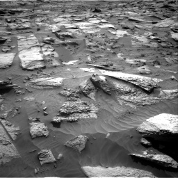 Nasa's Mars rover Curiosity acquired this image using its Right Navigation Camera on Sol 3212, at drive 2498, site number 90