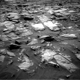 Nasa's Mars rover Curiosity acquired this image using its Right Navigation Camera on Sol 3212, at drive 2510, site number 90