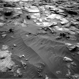 Nasa's Mars rover Curiosity acquired this image using its Right Navigation Camera on Sol 3212, at drive 2528, site number 90