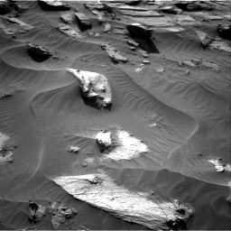 Nasa's Mars rover Curiosity acquired this image using its Right Navigation Camera on Sol 3212, at drive 2558, site number 90