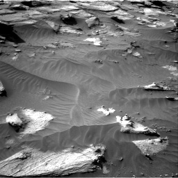Nasa's Mars rover Curiosity acquired this image using its Right Navigation Camera on Sol 3212, at drive 2576, site number 90