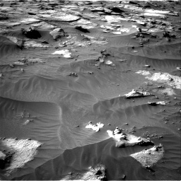 Nasa's Mars rover Curiosity acquired this image using its Right Navigation Camera on Sol 3212, at drive 2588, site number 90
