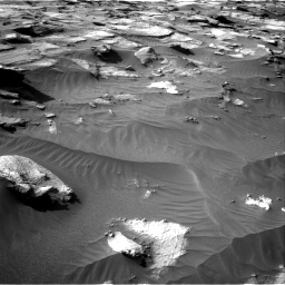 Nasa's Mars rover Curiosity acquired this image using its Right Navigation Camera on Sol 3212, at drive 2594, site number 90