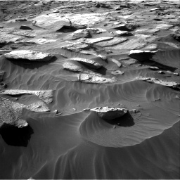 Nasa's Mars rover Curiosity acquired this image using its Right Navigation Camera on Sol 3212, at drive 2612, site number 90