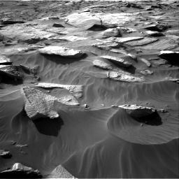 Nasa's Mars rover Curiosity acquired this image using its Right Navigation Camera on Sol 3212, at drive 2618, site number 90