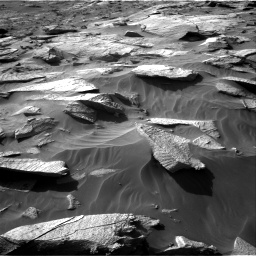 Nasa's Mars rover Curiosity acquired this image using its Right Navigation Camera on Sol 3212, at drive 2624, site number 90