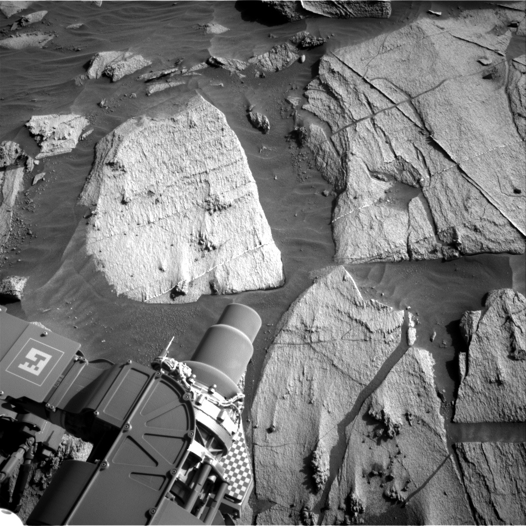 Nasa's Mars rover Curiosity acquired this image using its Right Navigation Camera on Sol 3212, at drive 2630, site number 90