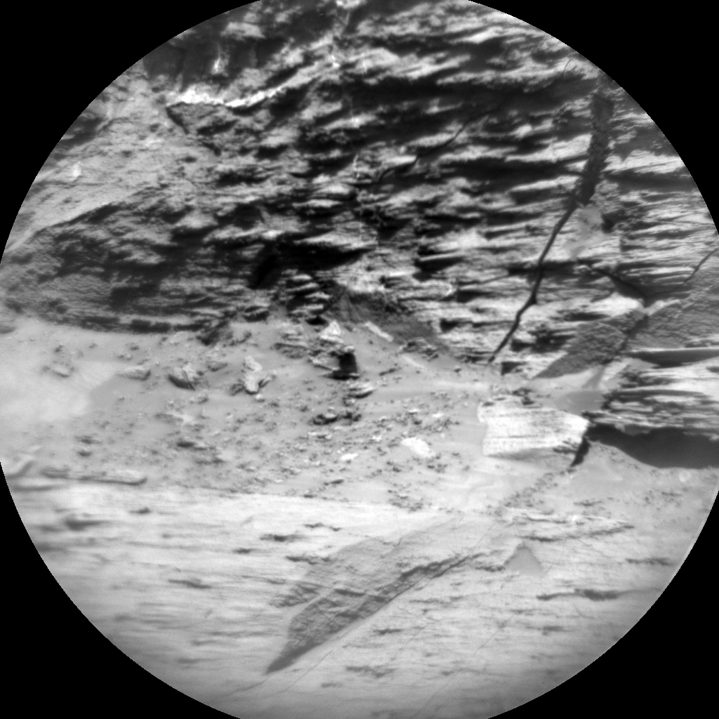 Nasa's Mars rover Curiosity acquired this image using its Chemistry & Camera (ChemCam) on Sol 3214, at drive 2630, site number 90