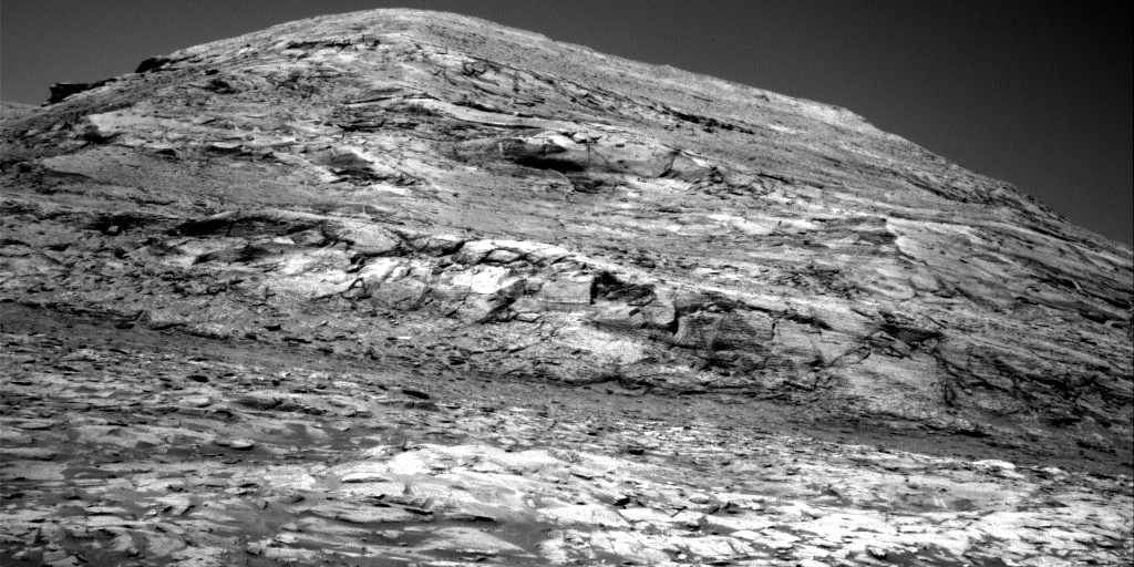 Nasa's Mars rover Curiosity acquired this image using its Right Navigation Camera on Sol 3215, at drive 2630, site number 90